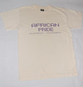 African Pride  Cream T-Shirt