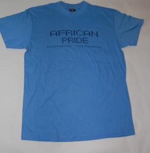 Sky Blue African Pride T-Shirt